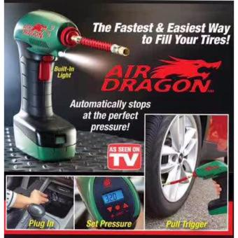 Air Dragon Handheld Portable Air Compressor Auto Tire InflatorBalls Mattress Toys Pump Emergency Tool