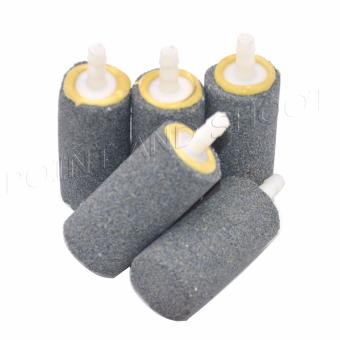 Air Stone for Aquarium / Fish Tanks set of 5 (2x2x5cm) - Gray