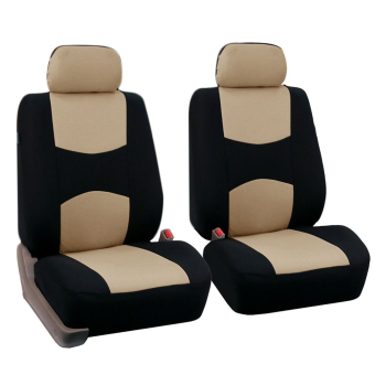 Allwin Front Rear Universal Car Seat Covers Auto Car Seat Covers Vehicles Accessories - 2