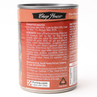 Alpo Chop House Fillet Mignon Wet Can Dog Food 374g (6 cans / box) - 2