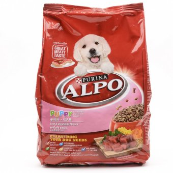 Alpo Puppy Beef & Vegetables with Milk Dry Dog Food 1.3kg ( 2bags / box) Price Philippines