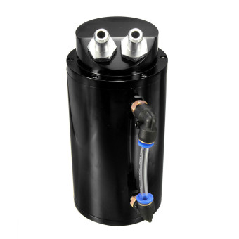 Aluminum Racing Oil Catch Tank/CAN Black Price Philippines