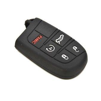 Amango Car Smart Key Case Cover For Jeep Chrysler Dodge