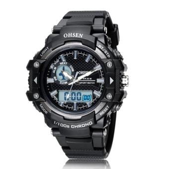 Analog Digital Watches Men Quartz Digital Military WristwatchesSports Waterproof Dive For Men LED Mens Watches Top Brand Luxury
