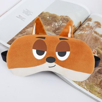 Animal Sleep Mask Eye Mask Sleeping Mask with Cooling Pad for Travel - intl