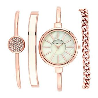 Anne Klein AK/1470RGST Bangle Watch and Bracelet Set Price Philippines