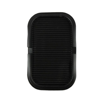 Ansee Car Dashboard Rubber Skidproof Mat - Black - 2