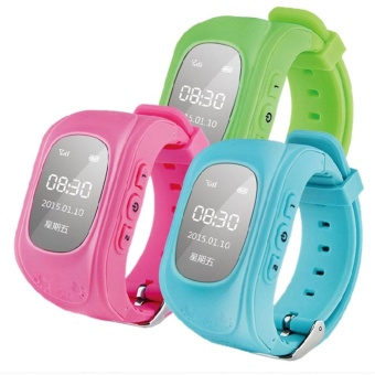 Anti-lost Children Smart Wrist Watch GPS GSM Positioning Q50 For Android IOS - intl