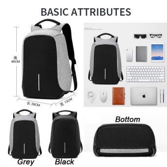 Anti theft Backpack bag travel waterproof bag - intl - 3