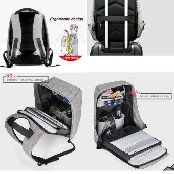 Anti theft Backpack bag travel waterproof bag - intl - 4