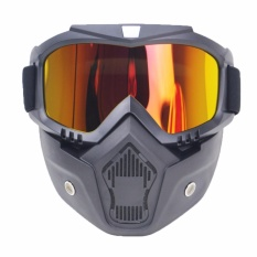 Motorcycle Goggles Helmet Protective Face Shield Bikers