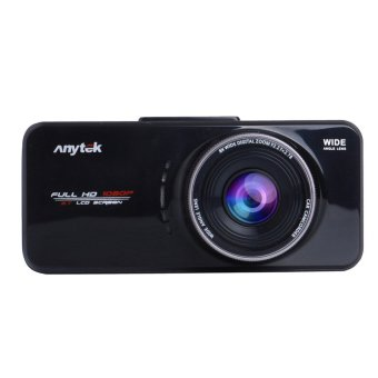 Anytek AT66A full HD Novatek 96650 Car Camera DVR Recorder BlackBox 170 Degree 6G Lens Supper Night Vision Dash Cam (Black)