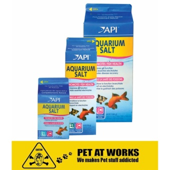 API AQUARIUM SALT (454g) for Fish Aquarium, Fish Pond and Fish Tank