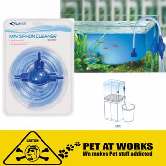 AquaSyncro Mini Syphon Cleaner for fish and aquarium