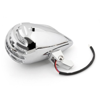 Areyourshop Grill Bar Head Lamps Motorcycle Round Head Light For Harley Chopper Bobber - intl - 2