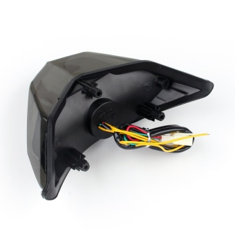Areyourshop Integrated LED TailLight Turn Signals for KawasakiNinja 300 Z250 2013-2014 Smoke - intl - 4