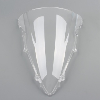 Areyourshop Windshield Windscreen Double Bubble For Yamaha YZF R6600 2003-2005 Clear - intl