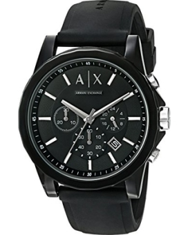 Armani Exchange Active Men's Black Silicone Strap Watch AX1326