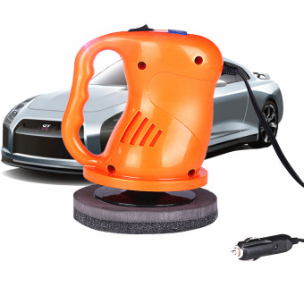 AS SEEN ON TV 12v Portable Car Polisher Electric Waxing MachineOrange