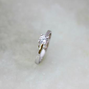 Athena & Co. 18K White Gold Plated Anastasia Engagement Ring Price Philippines