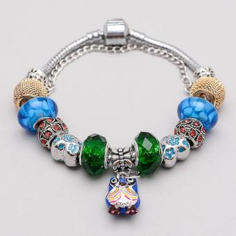 Athena & Co. Pandora Inspired Owl Charm Bracelet Price Philippines