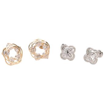 Athena & Co. Alice Earrings (Gold/Silver) Bundle