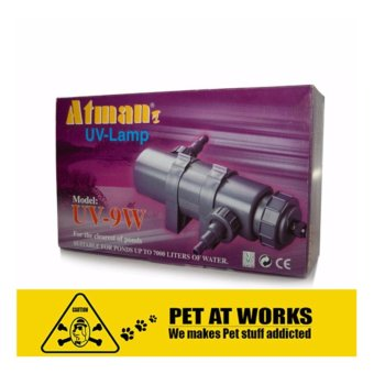 ATMAN UV Lamp Set 9Watts (2000-3000L/H) Algae Killer For PondSuitable up to 7000 liters of water