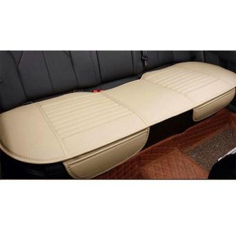 Auto Car Vehicle Interior PU Seat Cushion Cover Pad Universal Full Set - intl