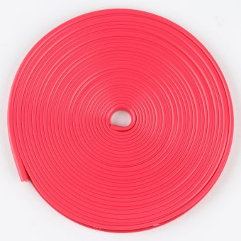 Auto Car Wheel Hub Rim Edge Rubber Strip rose - intl