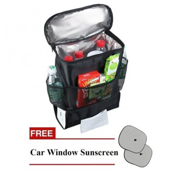 Auto Cooler Organizer with Free Car Window Sunscreen