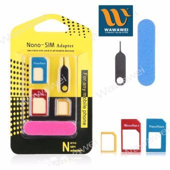 Auto Mini Car Humidifier Air Purifier Freshener Travel Car Porta(Black) with free Nano SIM Adapter Nano to Micro SIM Micro SIM toStandard SIM Card Adapter 5 IN 1 Tools Kit - 4