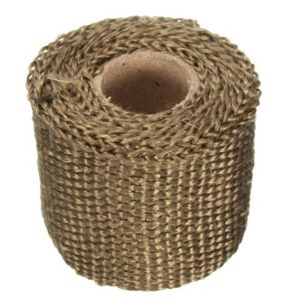 Autoleader Performance Exhaust Manifold Downpipe Insulating Heat Wrap 2 inch - 5