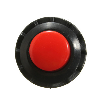 Autoleader Universal ON-OFF Momentary Push Mini Rocker Switch Horn Doorbell Car Dash Red - 2
