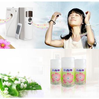 Automatic Light Sensor Aerosol Air Freshener Dispenser White OK-002 - 5