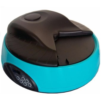 Automatic Pet Dog Feeder with Programmable Feeding Schedule and Voice Recording Function