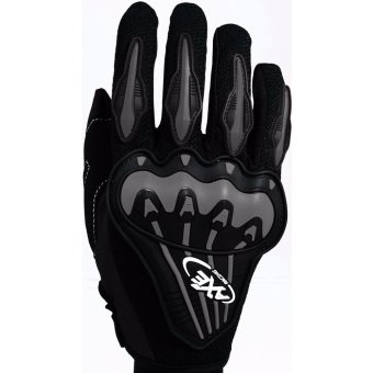 AXE TST-07 Motorcycle Gloves Touring & Racing (Black)