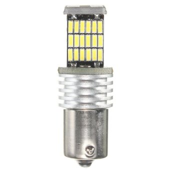 BA15S 1156 P21W 7507 4014 SMD 45 LED Light Bulb Turn Signal Pure White DC12V - intl