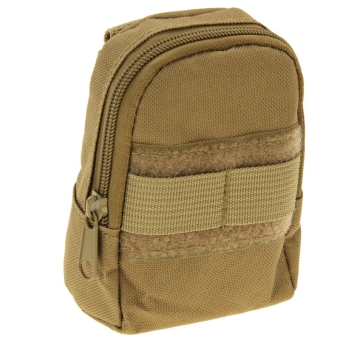 Backpack Style Pouch Bag (Beige)