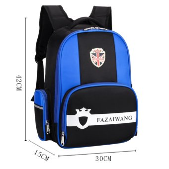 Backpacks Children School Bag Boys Girls Shoulder Waterproof Bag for Kids Children (6-13 Years Old) - intl
