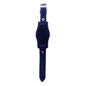 Backs Women's Blue Denim Strap Watch - picture 2