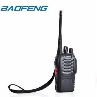 BAOFENG BF-888S UHF FM Transceiver High Illumination Flashlight Walkie Talkie Two-Way Radio