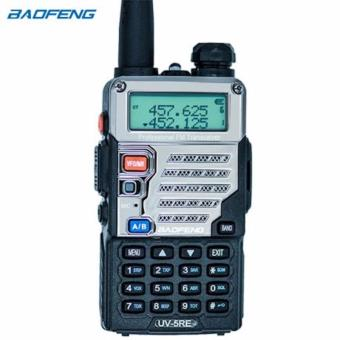 BaoFeng UV-5RE Walkie Talkie Professional CB Radio 128CH 5W VHF&UHF Handheld (BLACK)