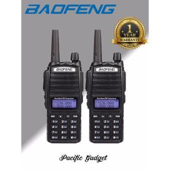BAOFENG UV-82 Dual Band (VHF/UHF) Analog Portable Two-way Radio Setof 2