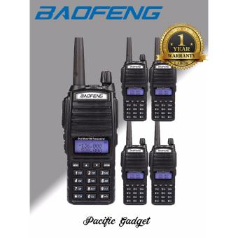 BAOFENG UV-82 Dual Band (VHF/UHF) Analog Portable Two-way Radio Setof 5