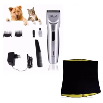 Baoli Pet Hair Clipper Complete Set with Hot Shaper for Belly