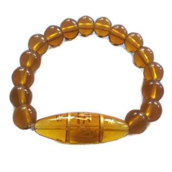 Be Lucky Charms Feng Shui Citrine Protection Mantra Bracelet