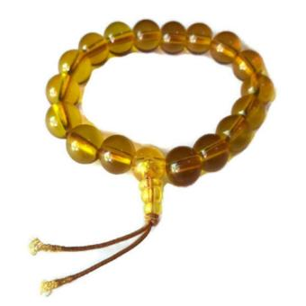 Be Lucky Charms Feng Shui Wealth Catcher and Wu Lou Citrine Bracelet