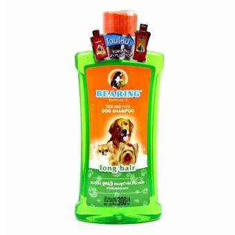 Bearing Formula 3 Tick and Flea Dog Shampoo (for Long Hair Breeds)- 300ml