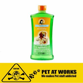 Bearing Long Hair Tick and Flea 300ML Dog Shampoo