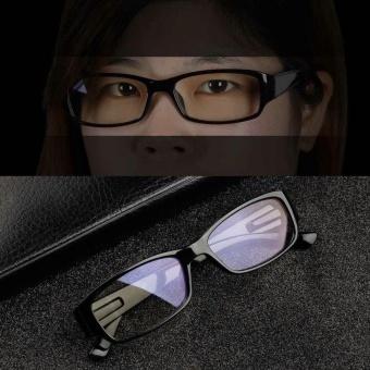 Beau Durable Eye-Wearing Computer Television Anti-Radiation Resistant Glasses Black - intl
